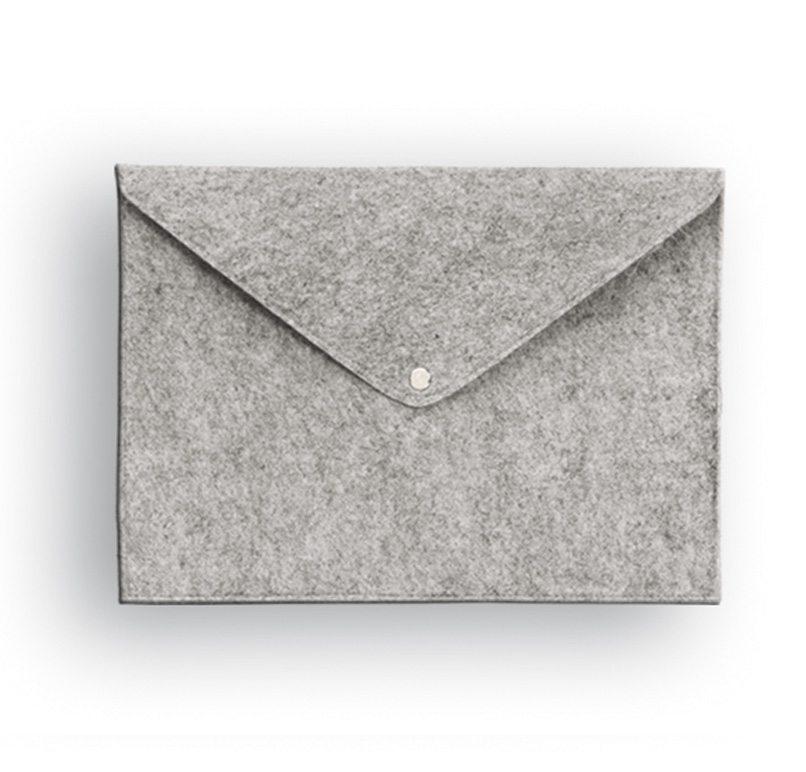 תיק מעטפה ממותג עם לוגו