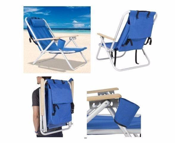 כיסא חוף מתקפל לפרסום