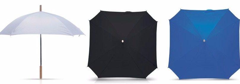 מטריות מרובעות עם לוגו לפרסום
