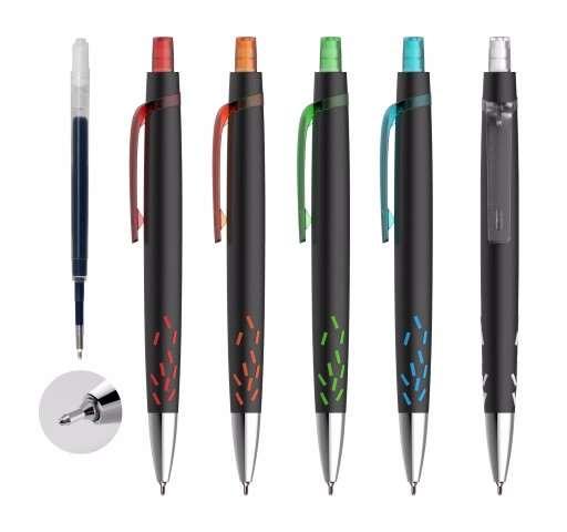 פרסום על עטים עם לוגו