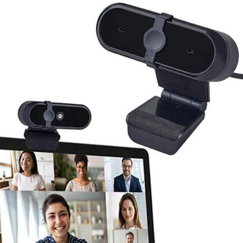 מצלמת רשת ממותגת עם לוגו חברה